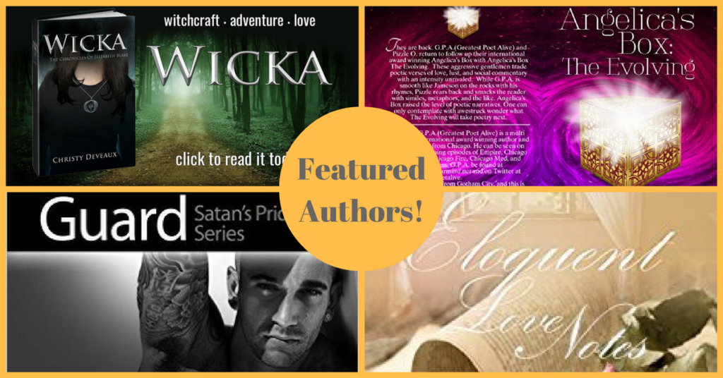 romance author collage of books